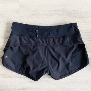 Lululemon Speed Up Shorts Run Black Size 4 S